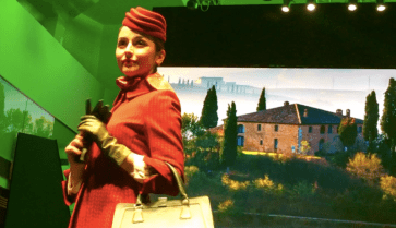 EXCLUSIVE Alitalia New Uniforms Runway Show Rome
