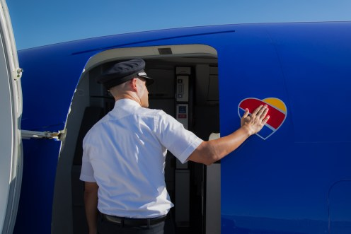 Southwest Airlines Unveils New Look with Heart. Photo Credit: Stephen M. Keller