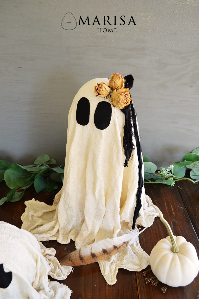 how to make cheesecloth ghost