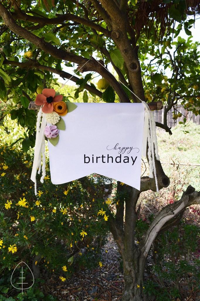 flower birthday decoration ideas