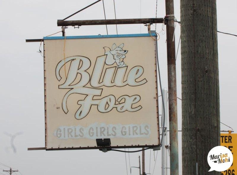 blue fox strip club 10th street