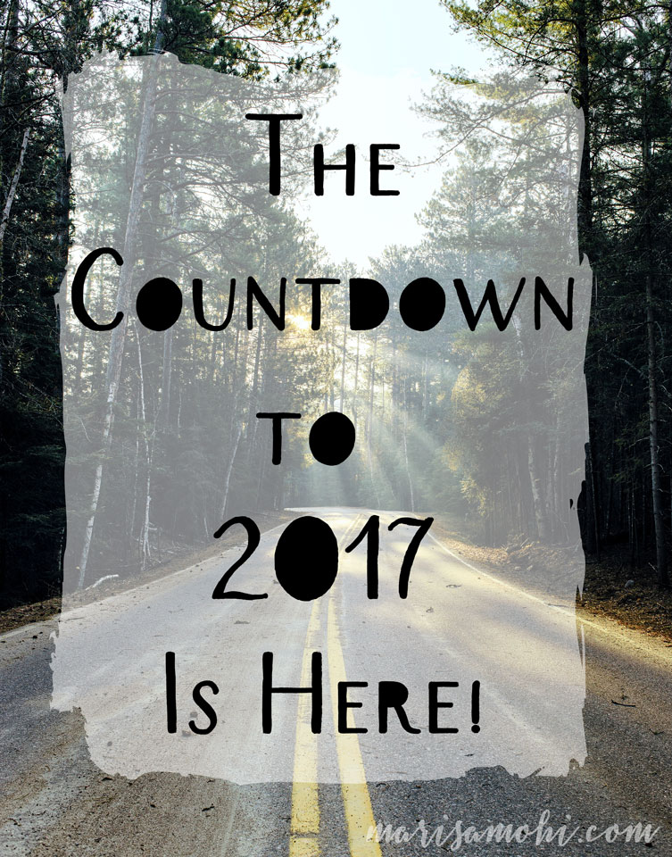 The countdown to 2017 is here!
