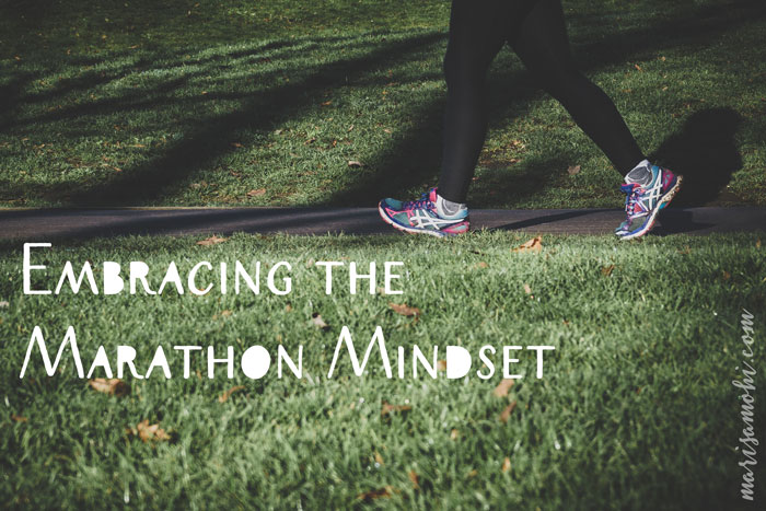 Embracing the Marathon Mindset