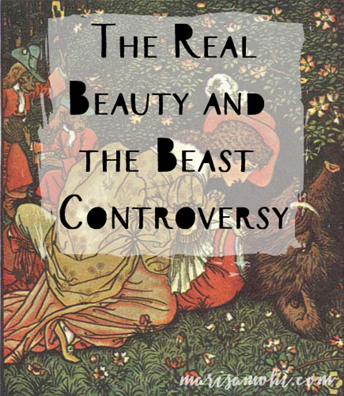 The Real Beauty and the Beast Controversy