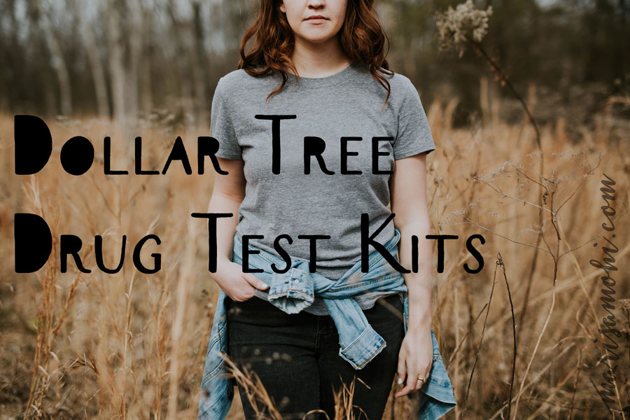 I saw a girl buying some Dollar Tree drug test kits, and this is that story.