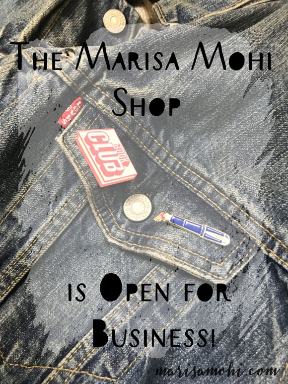 The Marisa Mohi Shop is open for business!