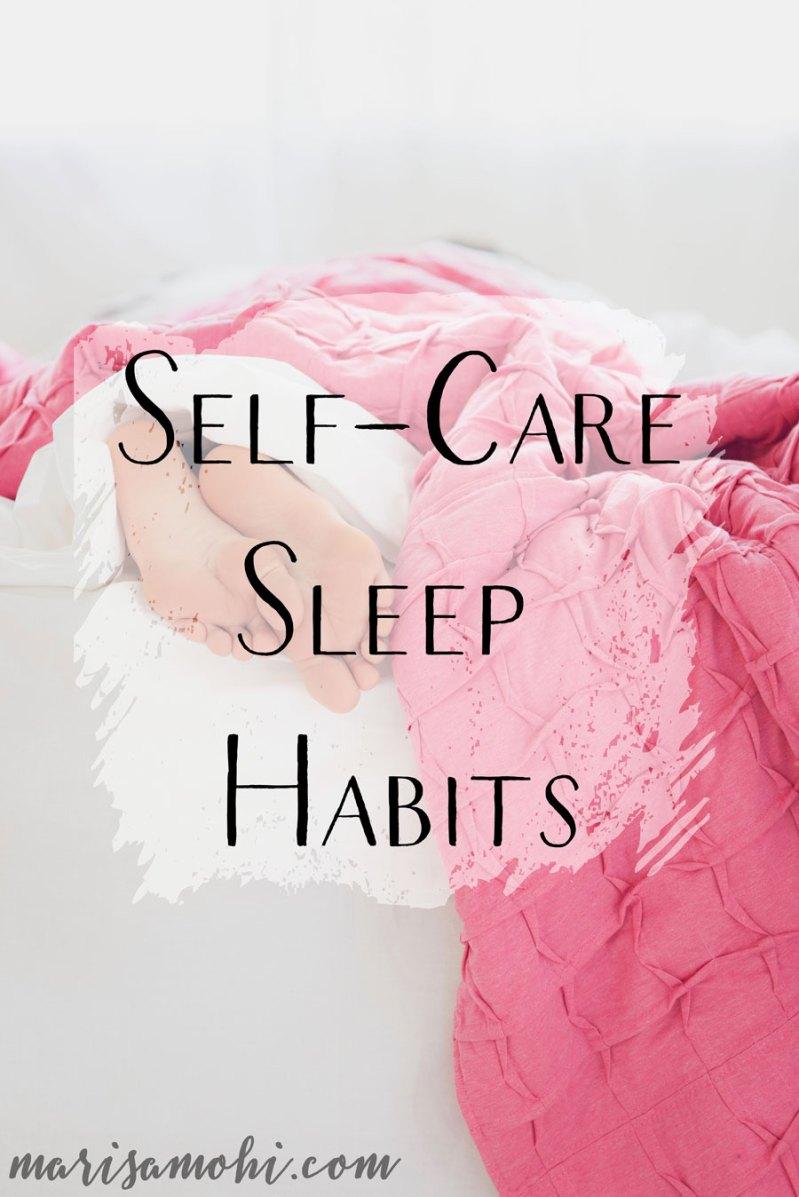 Self-Care Sleep Habits