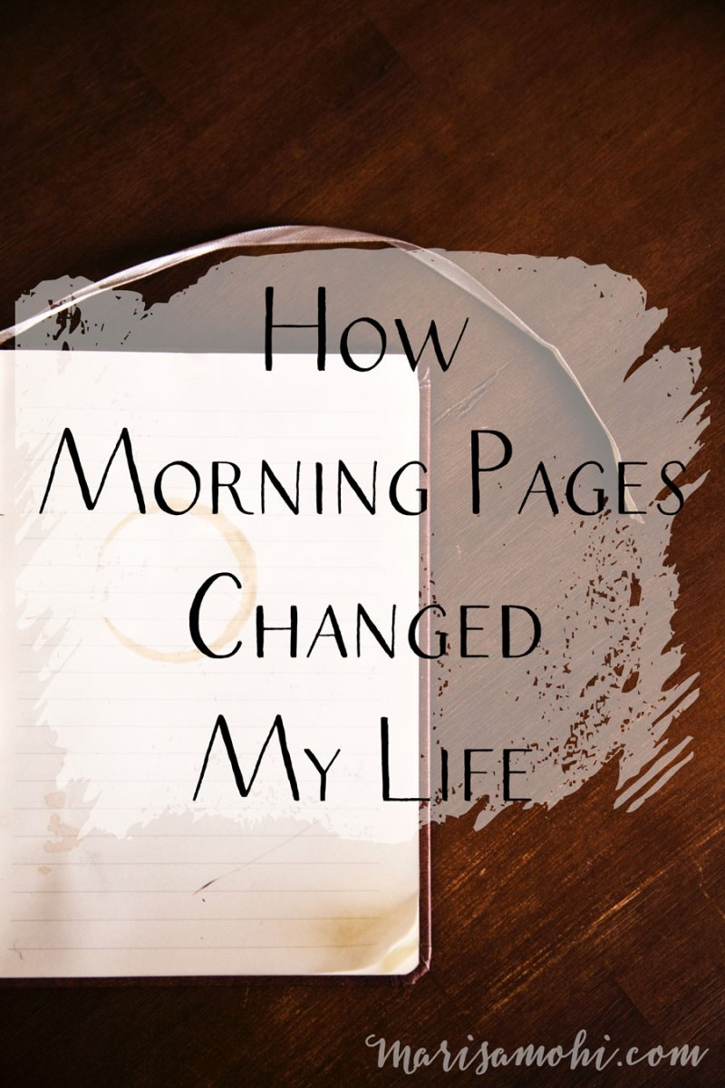 How Morning Pages Changed My Life | There are so many benefits to free writing, and many of these benefits are how morning pages changed my life. In this post, I'm sharing the changes I've noticed in my life since I adopted a morning pages practice.