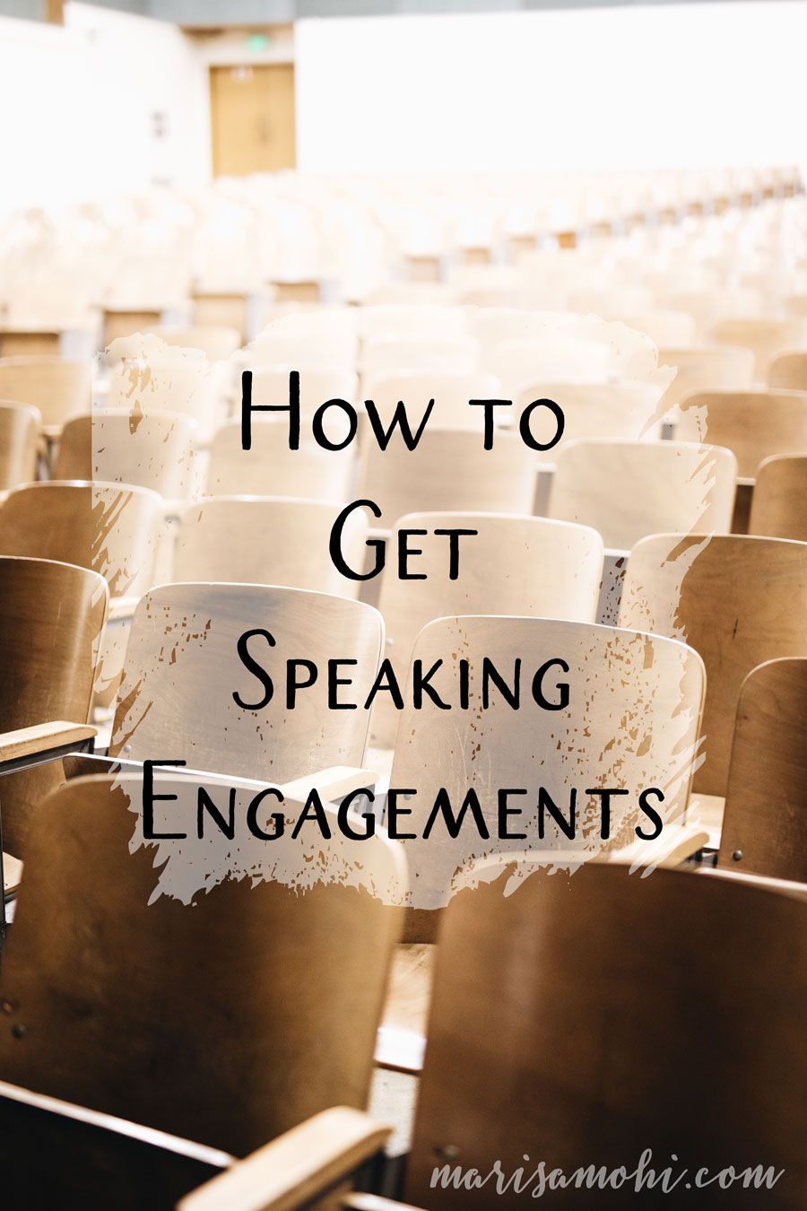 How to Get Speaking Engagements | So you've built your platform and you're ready to hit the stage to share your knowledge at the next big conference. But first, you need to know how to get speaking engagements. Today I'm sharing my tips for how to find speaking engagements and ways to get public speaking experience.