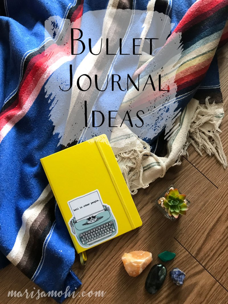 Bullet Journal Ideas | These bullet journal ideas are how I plan to reclaim a sense of calm and work smarter, not harder.