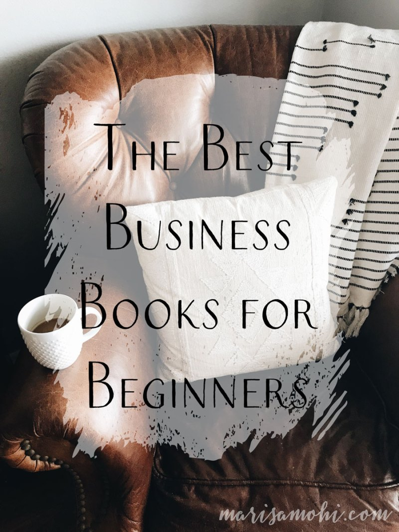 The Best Business Books for Beginners | Looking for the best business books for beginners? Click through to see the six best beginner business books I recommend for creative entrepreneurs!