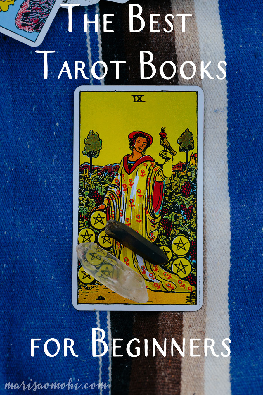 The Best Tarot Books for Beginners | Looking for the best tarot books for beginners? Click here to see the 5 books that will help you get started on your tarot journey!