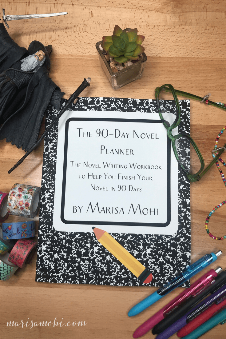The Novel Writing Schedule You Can Actually Stick To   Looking for a novel writing schedule to keep you on track but not burnt out? Check out The 90-Day Novel Planner!