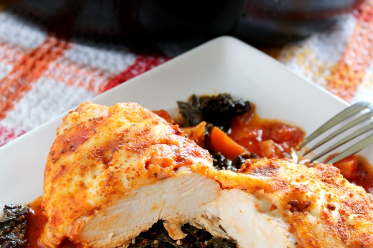 Chicken Parmesan With Kale