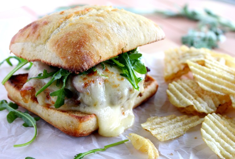 Veal Saltimbocca Burger