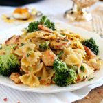 Broccoli and Chicken Farfalle is a hearty and delicious pasta dish that is easy enough to make for any day of the week.