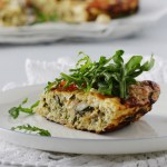 Zucchini Frittata with Feta Cheese