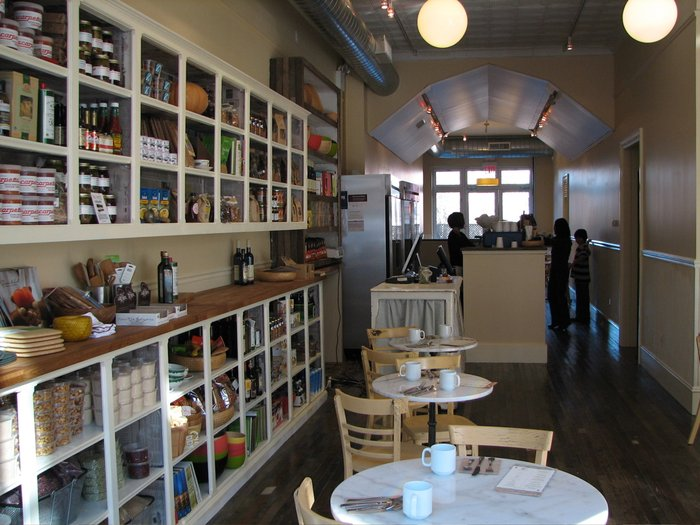 picture from yelp.com (there are more tables and refrigerators to the right)