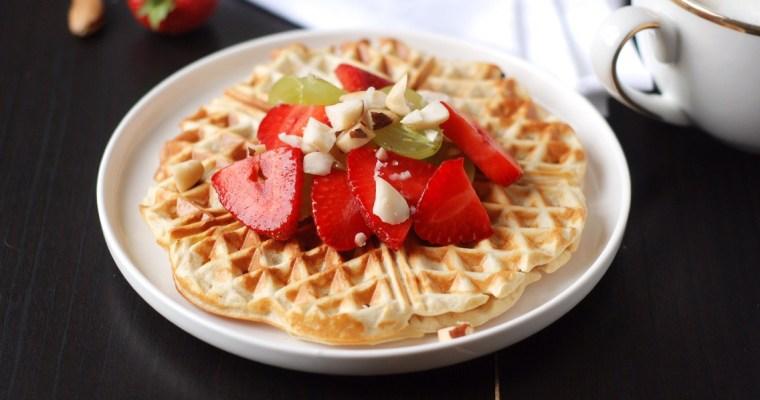 Vanilla Crunch Waffles