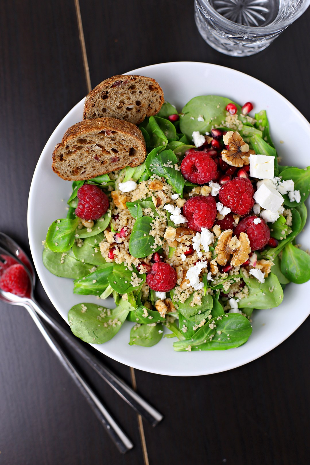 Raspberry Couscous Salad