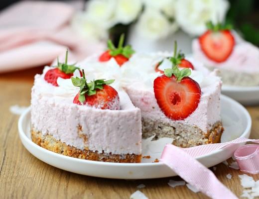 Erdbeerquarkkuchen