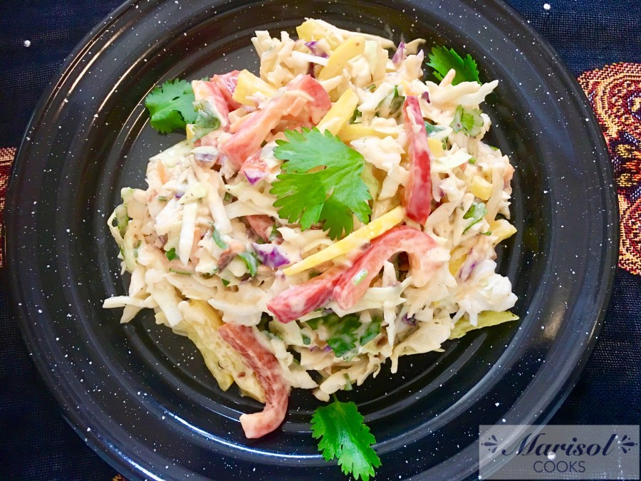 Cole Slaw with Chipotle dressing