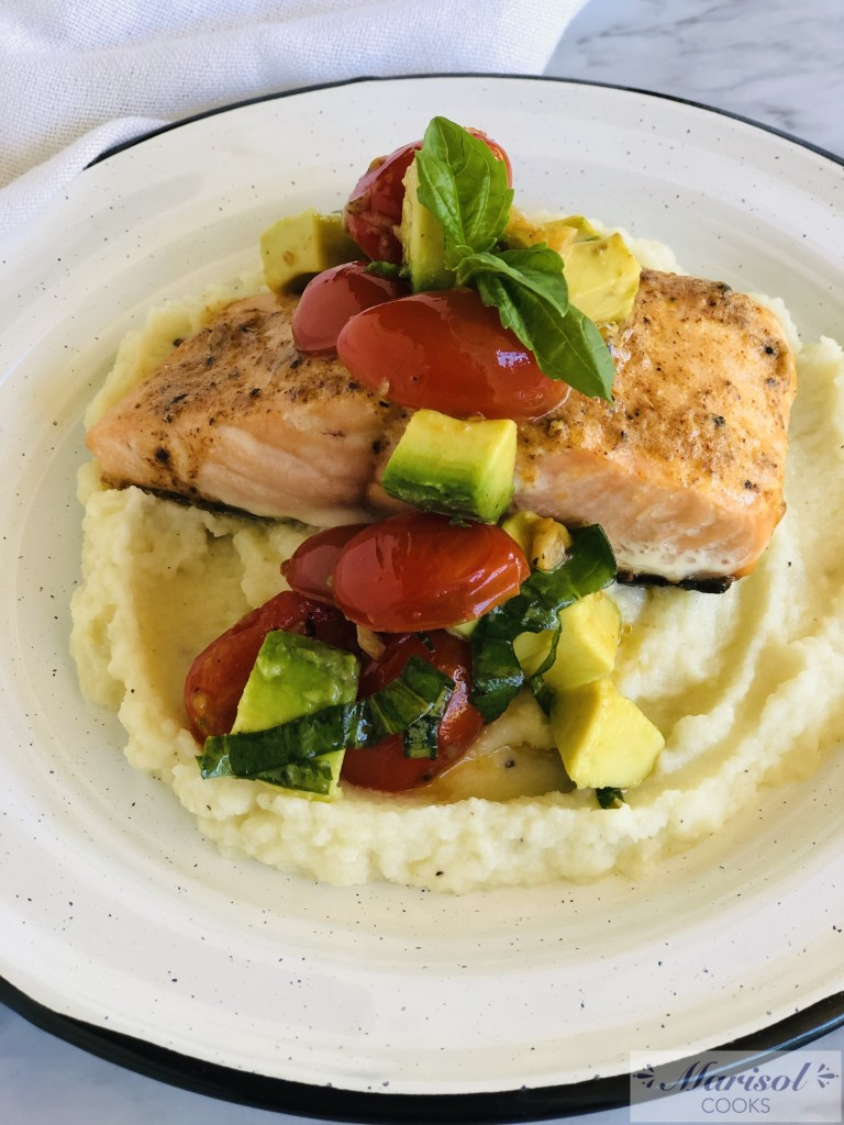 The Best Roasted Salmon