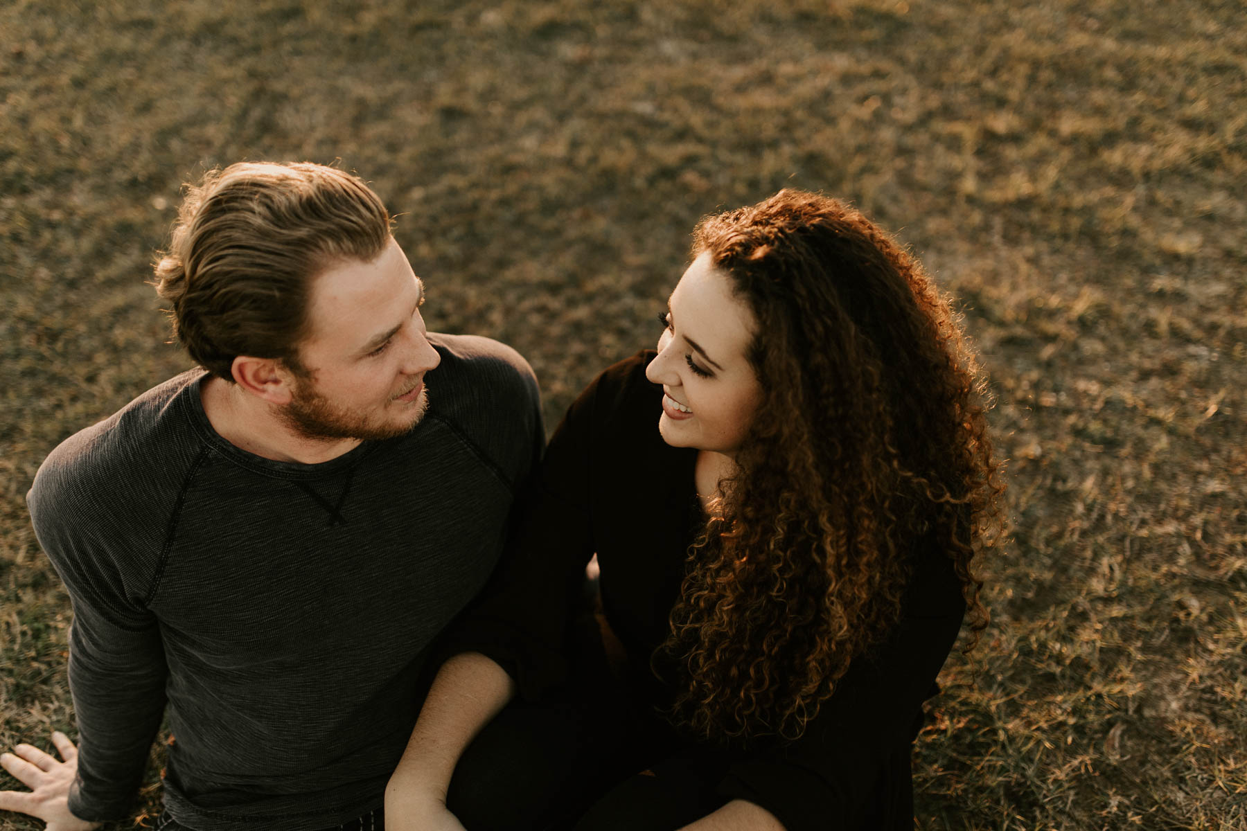 Pinterest worthy engagement session in east Texas