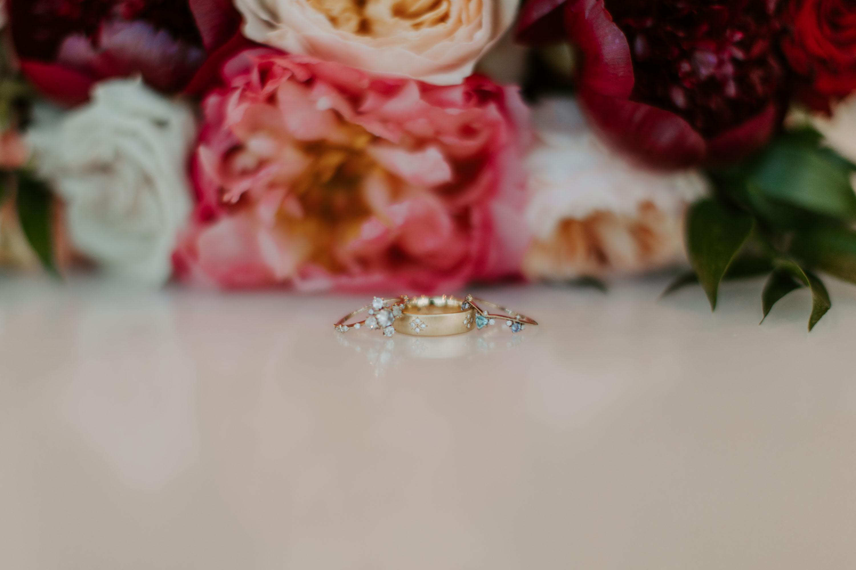 Dallas Texas wedding flowers detail shot