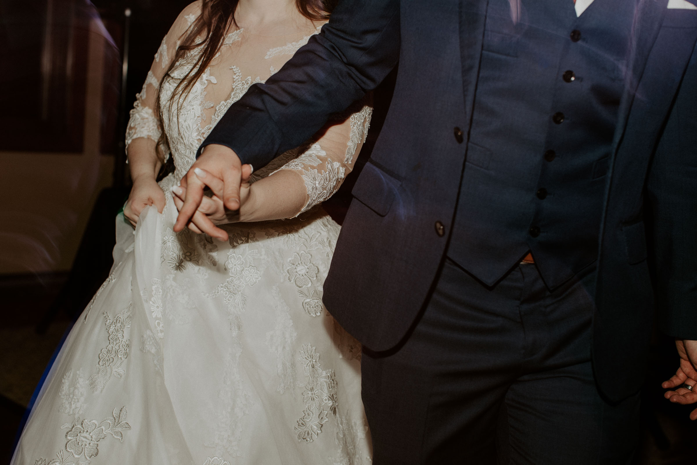 bride and groom dancing on their wedding day in dallas