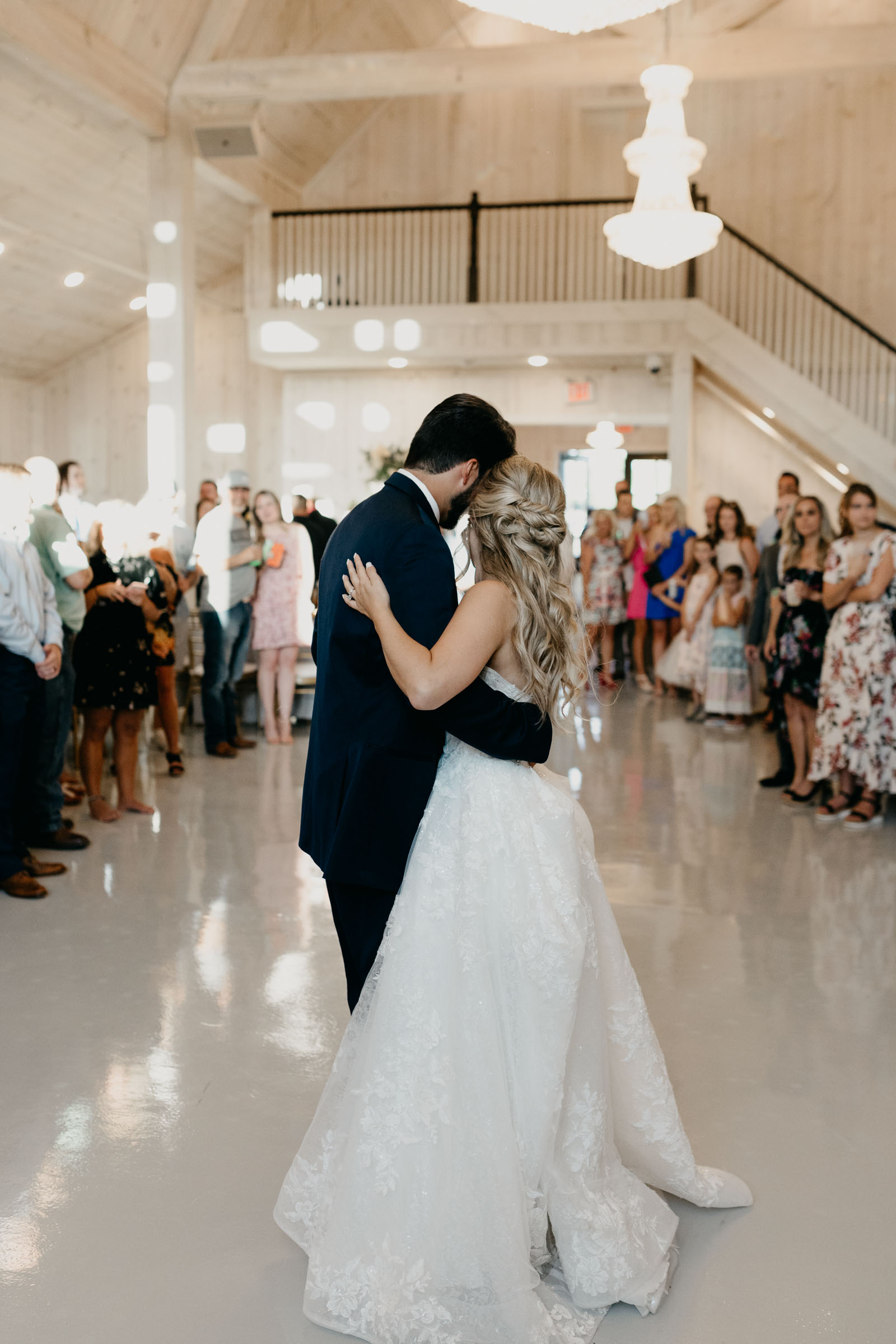 bride and groom first dance in DFW