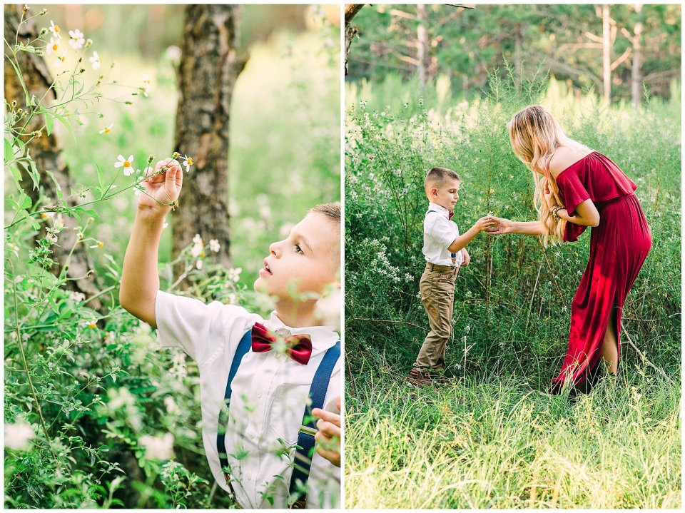 Outdoor family session in Lecanto