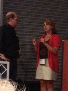 John Gilstrap and Lisa Gardner.