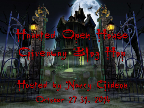 2014 Nancy Gideon's Haunted Open House Hop Graphic