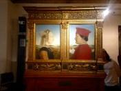 Duke and Duchess of Urbino, Uffizi