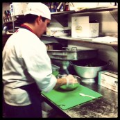 Sous Chef Daniel is preparing the Czech Republic #ValleyCafe (@ejane27)