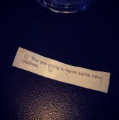 Fortune cookies from Myanmar give some funny fortunes (photo cred: @natebrusa)