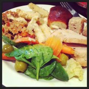 """""""Thaknsgiving comes early at the #Marist #ValleyCafe! @kellyfenn @c_larz and I will go into food comas now..."""" (@ejane27)"""