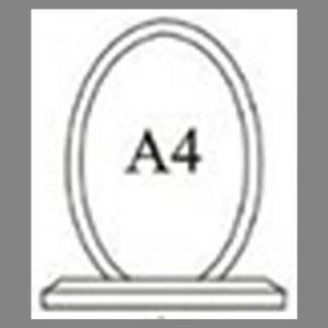 แบบโล่ห์อะคริลิก A4