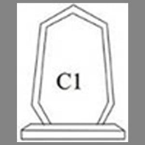 แบบโล่ห์อะคริลิก C1