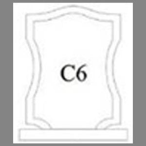 แบบโล่ห์อะคริลิก C6
