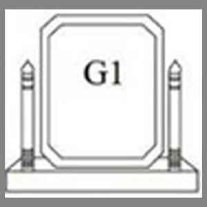 แบบโล่ห์อะคริลิก G1