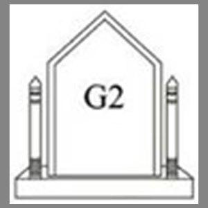แบบโล่ห์อะคริลิก G2