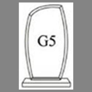 แบบโล่ห์อะคริลิก G5