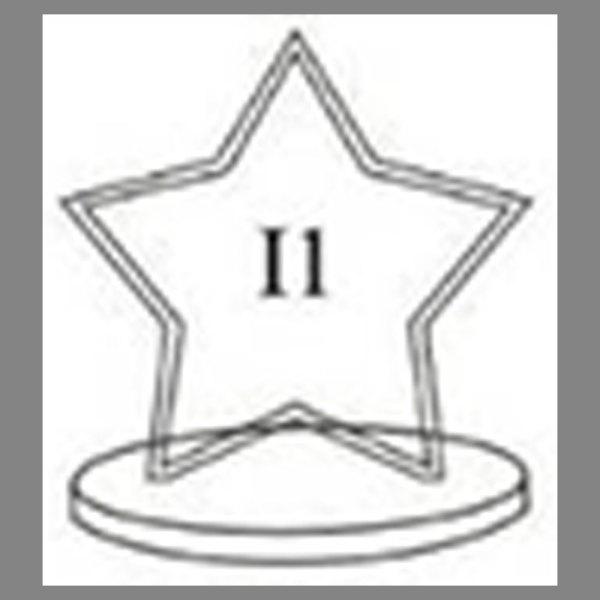 แบบโล่ห์อะคริลิก I1