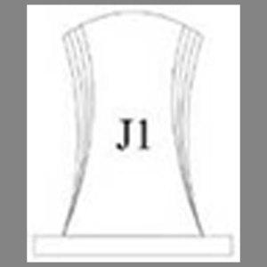 แบบโล่ห์อะคริลิก J1