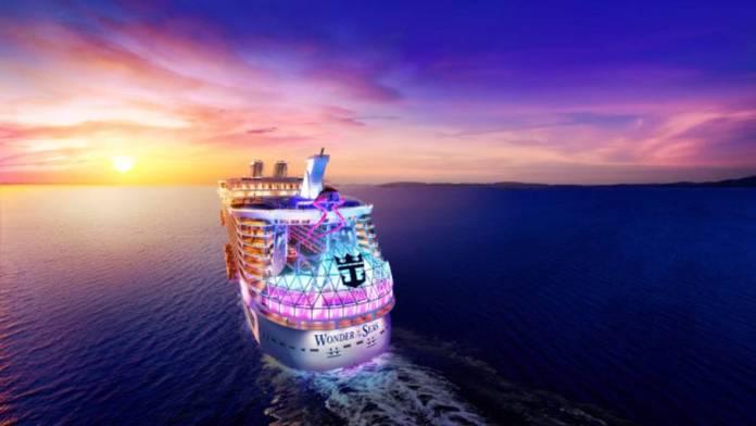 Se verdens største krydstogtskib under opbygning