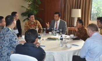 Indonesia IT Security and Finance Round Table Conference. (Foto: Humas PT Pindad)