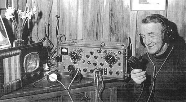 Radio station at Kaingaroa in 1951