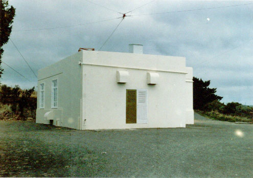 North end of the transmitter building at ZLW in 1985.